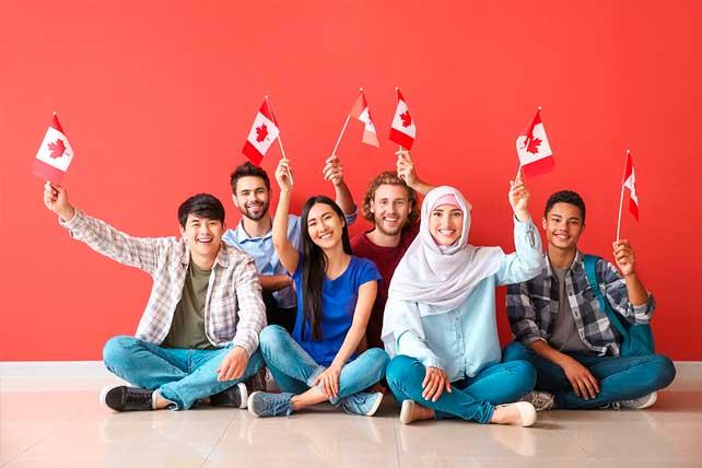 Porcentaje de inmigrantes en Canadá y su procedencia